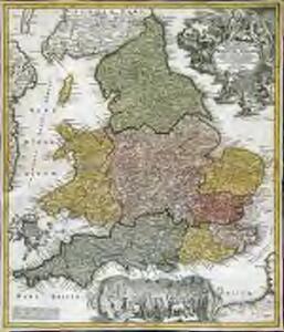 Magnæ Britanniae pars meridionalis, in qua regnum Angliæ