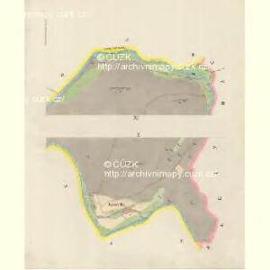 Gross Glockersdorf (Klokočowo Welke) - m1203-1-005 - Kaiserpflichtexemplar der Landkarten des stabilen Katasters