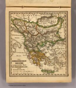 Osmanischen Reichs europ. Theil, Griechenland.