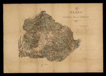 Plano general de la Cerdaña