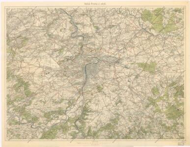 VZÚ v Praze účastníkům I. sjezdu slovanských geografů v Praze 1924 -soubor map