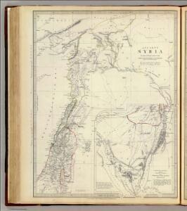 Ancient Syria to Sinai.