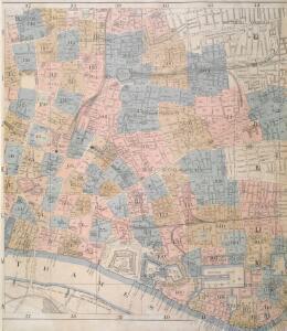 Insurance Plan of London: sheet 7