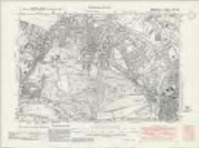 Middlesex XXV.NE - OS Six-Inch Map