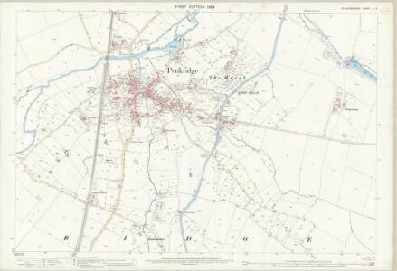 Staffordshire L.3 (includes: Penkridge) - 25 Inch Map