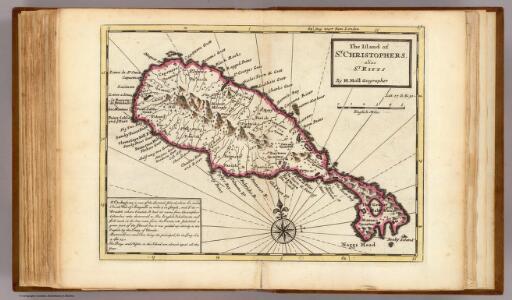Island of St. Christophers, alias St. Kitts.