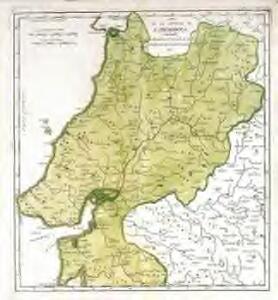 Mapa de la provincia de Estremadura