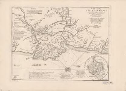 Carte de l'Isle de Caïenne et des rivières voisines ... : dressée sur une carte faite dans le pays ... sur les mémoires de Mr. Milhau