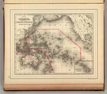 Oceanica, Sandwich Islands.