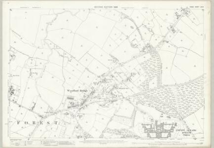 Essex (1st Ed/Rev 1862-96) LXV.8 (includes: Buckhurst Hill; Chigwell; Ilford; Woodford) - 25 Inch Map