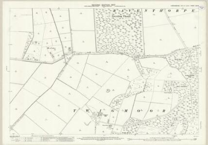 Lincolnshire XIX.13 (includes: Holme) - 25 Inch Map