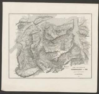 Karte eines Theiles von Unterwalden und Uri