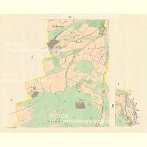 Klein Lhotta (Mala Lhotta) - m1686-1-002 - Kaiserpflichtexemplar der Landkarten des stabilen Katasters