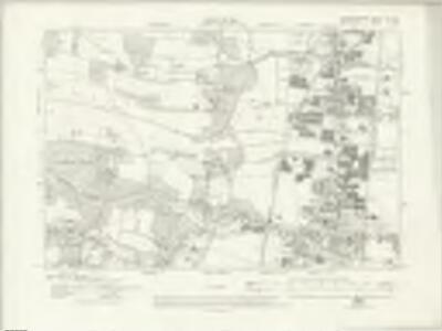 Hertfordshire XLI.SE - OS Six-Inch Map