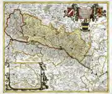 Utriusque Alsatiæ, landgraviatus ducatus Dupontii, et Spirensis episcopatus, nova tabula