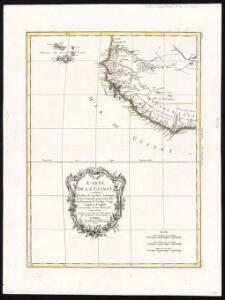 Carte de la Guinée, contenant les Isles du cap Verd, le Senegal, la Côte de Guinée proprement dite, les Royaumes de Loango, Congo, Angola et Benguela