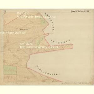 Prerau (Přerow) - m2453-1-015 - Kaiserpflichtexemplar der Landkarten des stabilen Katasters