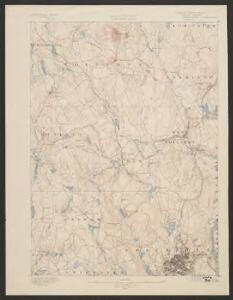 Worcester quadrangle, Massachusetts