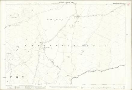 Westmorland XLVIII.2 (includes: Barbon; Casterton; Leck) - 25 Inch Map