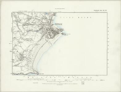 Pembrokeshire XLI.SW - OS Six-Inch Map
