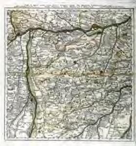 Pars IV. monstrat mediam partem ducat: Bavariæ, urbem jmp: Augustam Vindelicorum, cum parte ducat Neoburg, et episc. Frising