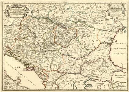 Le Royaume de Hongrie et les Estats qui en ont Esté sujets et qui font presentement la Partie Septentrionale de la Turquie en Europe.