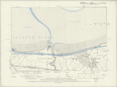 Lancashire CXVII.NE - OS Six-Inch Map