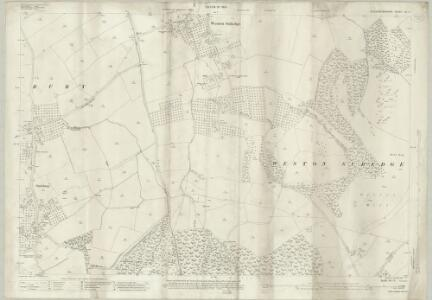 Gloucestershire VII.11 (includes: Aston Subedge; Chipping Campden; Saintbury; Weston Subedge) - 25 Inch Map