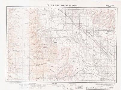 Lambert-Cholesky sheet 2884 (Băile Tarna)