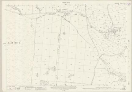 Derbyshire XXIV.7 (includes: Brampton; Walton) - 25 Inch Map