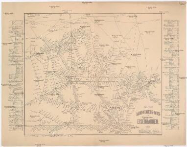 Routen und Manipulations-Karte der oesterr[eichischen] ungar[ischen] Eisenbahnen