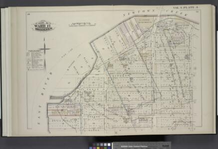 Detailed Estate and Old Farm Line Atlas of The City of Brooklyn. Complete In Six Volumes. Vol. 6. Comprising Wards 13,14,15, 16, 17 & 19. From Official Records, Private Plans and Actual Surveys, Based upon the Plans deposited in the Assessors Office. By