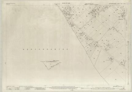 Northamptonshire XLVII.2 & 6 (includes: Knotting and Souldrop; Newton Bromswold; Podington; Rushden; Wymington) - 25 Inch Map
