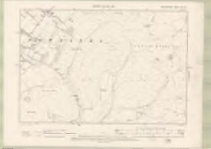 Peebles-shire Sheet VIII.NE - OS 6 Inch map
