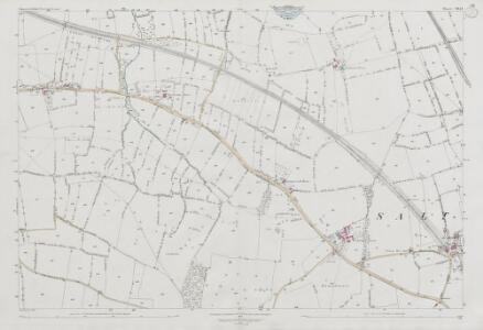 Somerset VII.14 (includes: Bitton; Keynsham) - 25 Inch Map