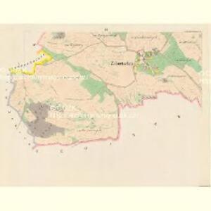 Zahortschitz - c9044-1-003 - Kaiserpflichtexemplar der Landkarten des stabilen Katasters