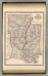 Arkansas, Mississippi, and Louisiana.