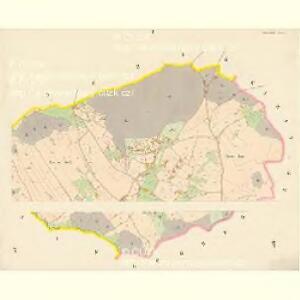 Kunzendorf (Kunčinowes) - c3697-1-001 - Kaiserpflichtexemplar der Landkarten des stabilen Katasters