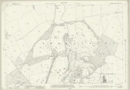 Gloucestershire XIII.11 (includes: Dumbleton; Toddington) - 25 Inch Map