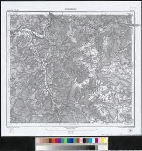 Meßtischblatt [7715] : Hornberg, 1884