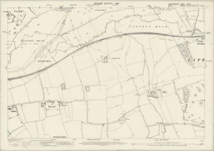 Hertfordshire XXXVII.3 (includes: Eastwick; Great Parndon; Hunsdon; Netteswell; Roydon) - 25 Inch Map
