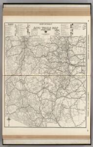 AutoTrails Map, Utah, Colorado, New Mexico, Arizona.