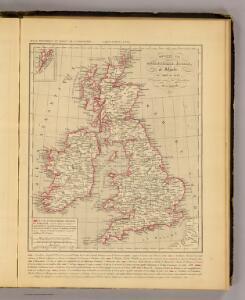 Royaume Uni, Angleterre, Ecosse, et Irlande 1603 a 1839.