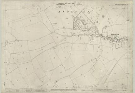 Hertfordshire XIII.8 (includes: Aspenden; Buntingford; Westmill) - 25 Inch Map