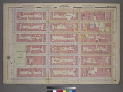 Plate 2, Part of Section 3: [Bounded by E. 20th Street, Avenue B, E. 14th Street, and Second Avenue.]