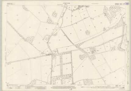 Wiltshire LV.11 (includes: Amport; Cholderton; Shipton Bellinger; Thruxton) - 25 Inch Map