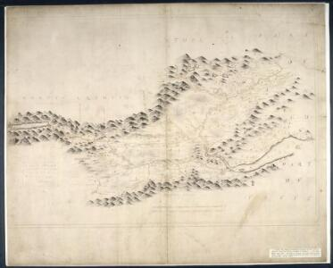 The Mappe of Straithern, Stormont, & Cars of Gourie with the rivers Tay and Ern / surveighed & designed [by] John Adair.