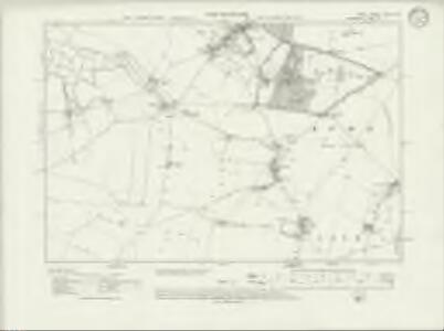 Kent XXV.SW - OS Six-Inch Map