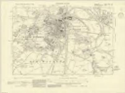 Berkshire XXXII.SW - OS Six-Inch Map