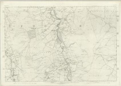 Northumberland CVII - OS Six-Inch Map
